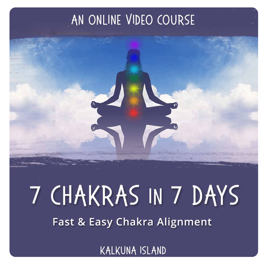 7 chakras 7 days